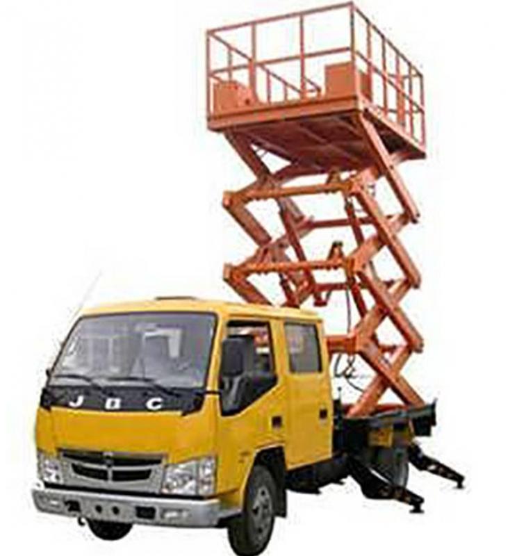 车载式升降机平台