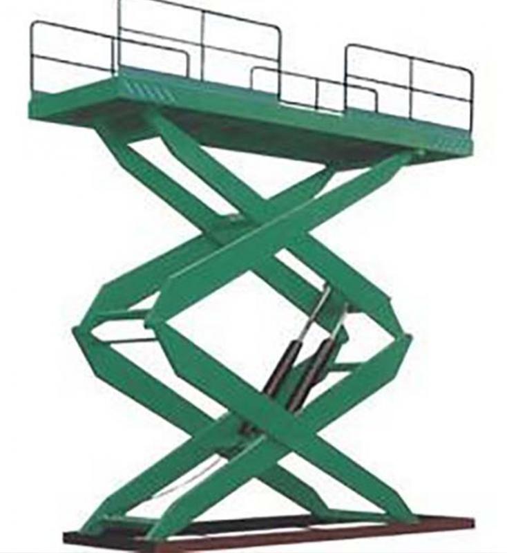 剪叉式升降机平台